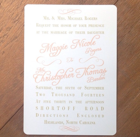 Vintage Blush Lace Wedding Invitations & RSVPs