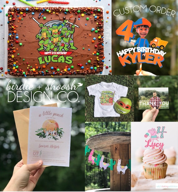 Custom Designed Order for your Theme