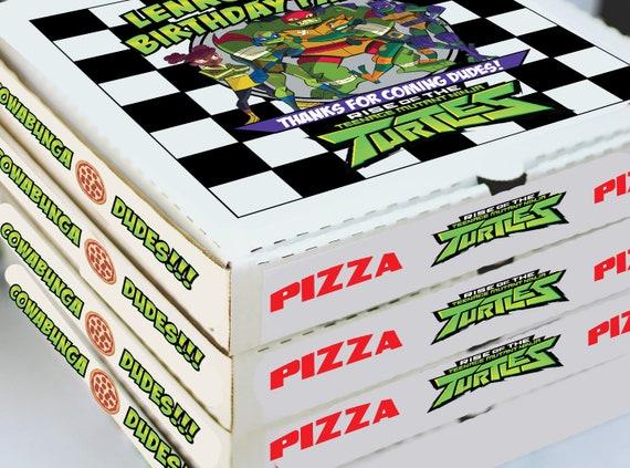 Teenage Mutant Ninja Turtle Label Digital Download