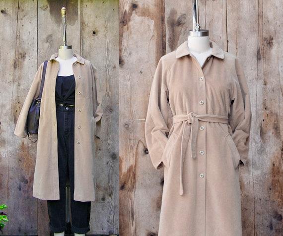 vintage BONNIE CASHIN coat + vintage 70s belted tr