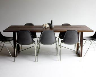 Danish Modern Dining Table Mid Century Henning Kjaernulf For Etsy - Danish modern kitchen table