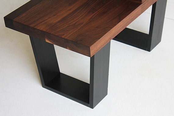 check out 92053 c7e41 Mid Century Modern Side Table, Small Wood Side Table, Mid Century Minimal  Furniture