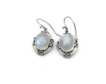 Bali Moonstone Earrings