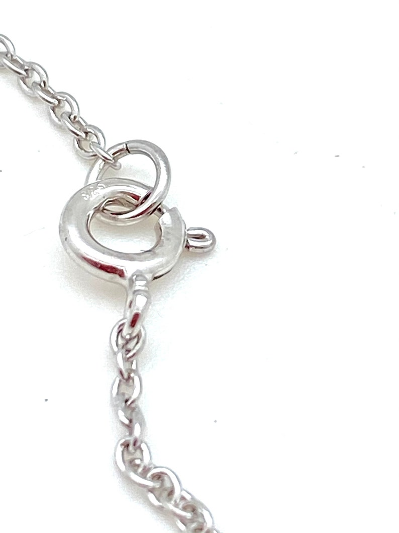 Sterling Silver Cubic Zirconia Station Necklaces