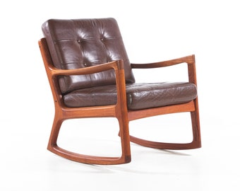Pleasing Danish Rocking Chair Etsy Pdpeps Interior Chair Design Pdpepsorg
