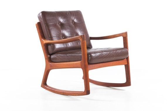 Astonishing Rocking Chair Teakwood Wanscher France Son Mid Century Denmark Squirreltailoven Fun Painted Chair Ideas Images Squirreltailovenorg