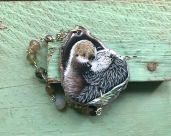 Otter bracelet   Etsy