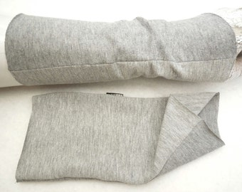 arm warmers, softly, wrist warmers, jersey, gloves, grey to grey puls warmers, ideal for dresses or a thin sweater popular gift cuddly warm