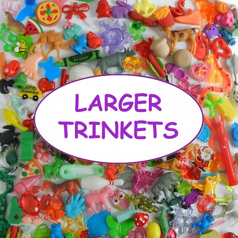 LARGE TRINKETS for teaching sensory bins I spy bins image 1