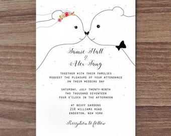 wedding card cute congratulations card cute wedding card etsy