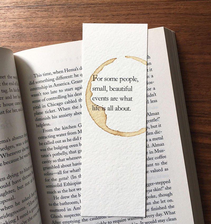 Wedding Gift Bookmark Best Friend Gift Life Change Gift Etsy