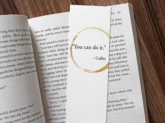 you can do it coffee quote coffee lover gift funny gift for