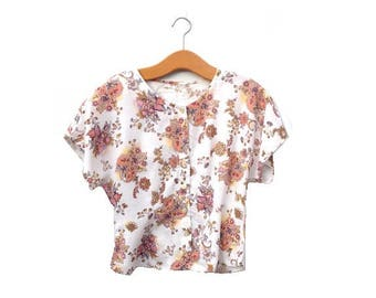 Indian Summer Blouse | Floral | Ethnic Print