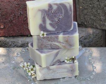 Sweet & Sandalwood Shea Butter Alkanet Root Soap