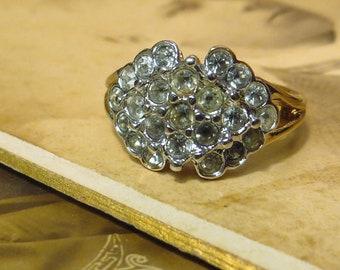 Vintage 14 k gold plated Esposito espo ring