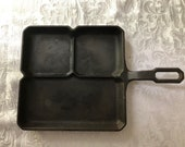 Vintage Griswold cast iron skillet marked quot Colonial Breakfast skillet quot