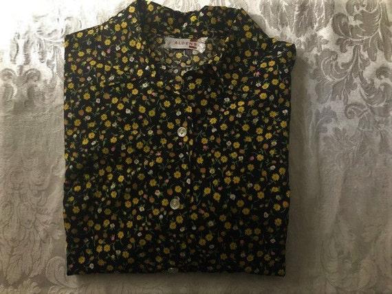 Vintage Aldens women's blouse