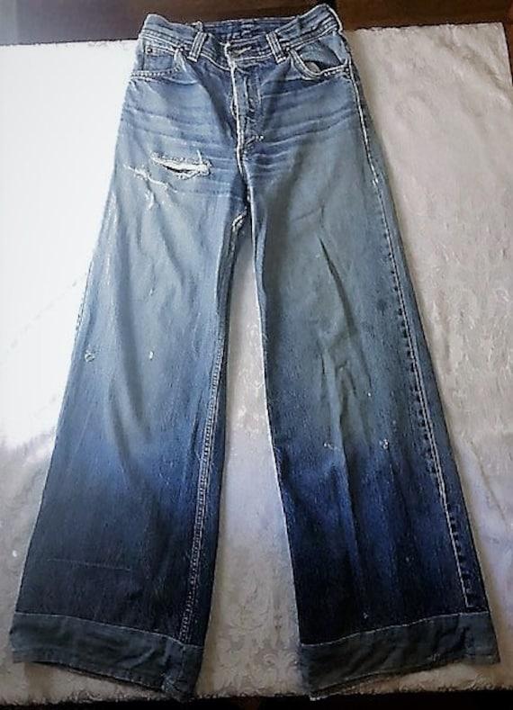 Vintage 1970's original H.A.S.H. jeans