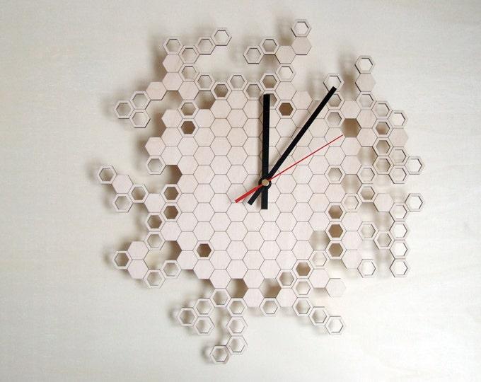 Honeycomb Original Wall Clock (medium)