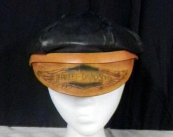 8e0337124 Harley captain hat   Etsy