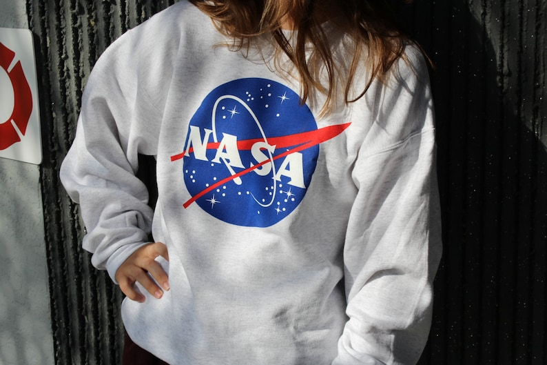 7830a1bf Nasa Meatball Gray Sweatshirt by Space Shirts image 0 ...