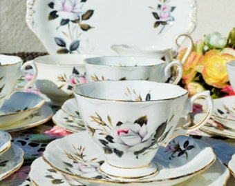 Royal Albert Queens Messenger  tea set for six