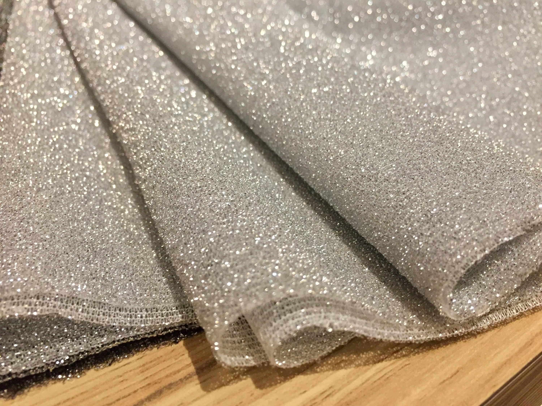 metallic stretch lurex jersery fabric 160cm wide