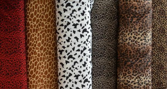 Soft Plush Cuddlesoft Velboa Fleece Fabric BROWN