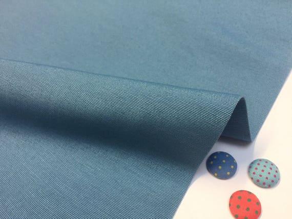 Cortinas De Tela Lisa otomano Tapicería material de tela de algodón 140 cm Ancho Blanco