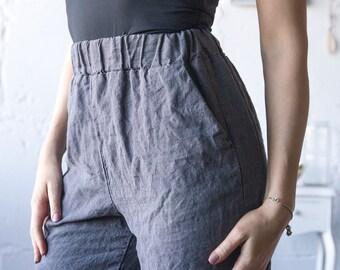 09e8ebc1f9e2 LINEN PANTS women, mens linen pants, wide leg linen pants, linen pants  plus, mens big and tall linen pants, linen pants, loose linen pants
