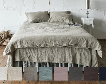 DUVET COVER quilt linen bedding linen duvet cover queen duvet cover king Queen duvet cover Full Twin tour de lit bb en queen quilt LenOk
