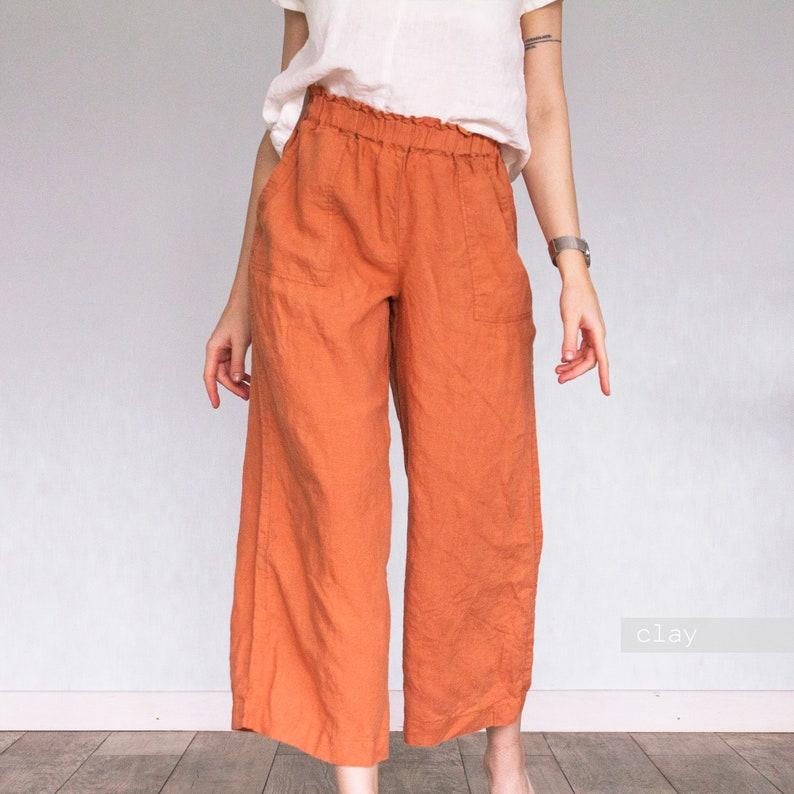 adult pajama pants maternity pants pajama pants LINEN PANTS women suit pants wide leg pants navy blue pants womens pajama pants