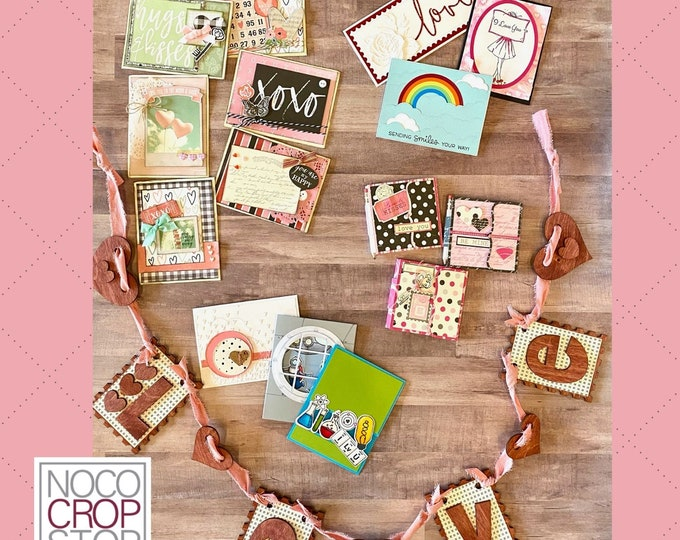 Featured listing image: NOCO Makers Box - January LOVE Themed, DIY Craft Kit