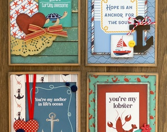 Monterey Bay  General Themed Card Kit- 4 pack