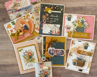 Mini DIY Stationary Kit - 6 General Cards