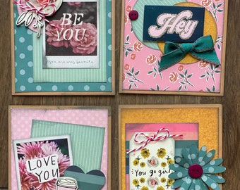 All Heart General Themed Card Kit- 4 pack