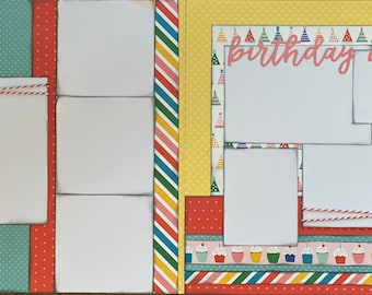 Birthday Scrapbooking