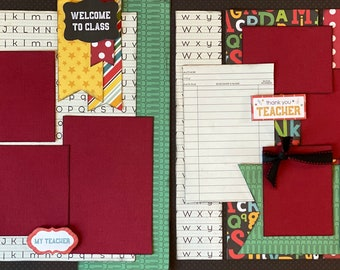 School Scrapbooking Kits
