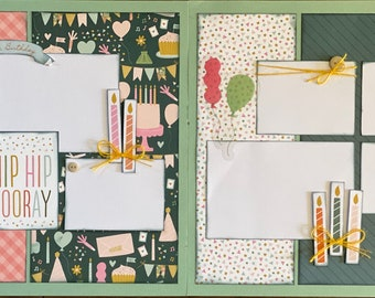 SALE Scrapbooking Kits