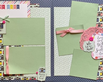 Every Day May Not Be Great But There's Something Great in Every Day 2 page Scrapbooking Layout Kit or Premade Scrapbooking Pages