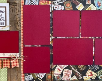 Always Stay Humble and Kind - Happy Day 2 Page Scrapbooking Layout Kit or Premade Scrapbooking Pages