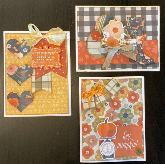 Fall Themed Card Kit- 3 pack