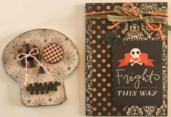 Fright This Way - Monthly Foundations Decor Welcome Sign Magnetic Interchangeable Pieces