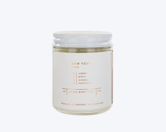 New York City Soy Wax Candle