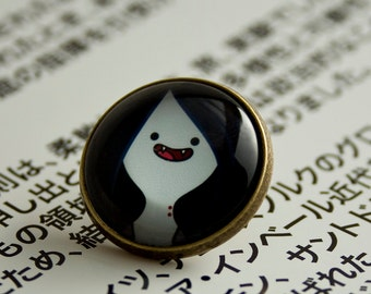 Adventure Time Marceline/ Round Pin 20 mm/  Special for Adventure Time lovers
