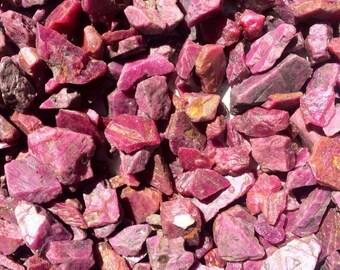 Ruby Raw Natural Small Crystals