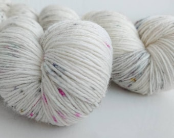 "100% Merino 4-ply ""Magical Dustbunny"""