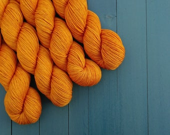 "75/25% Superfine Merino / Nylon 4-ply ""Golddigger"""