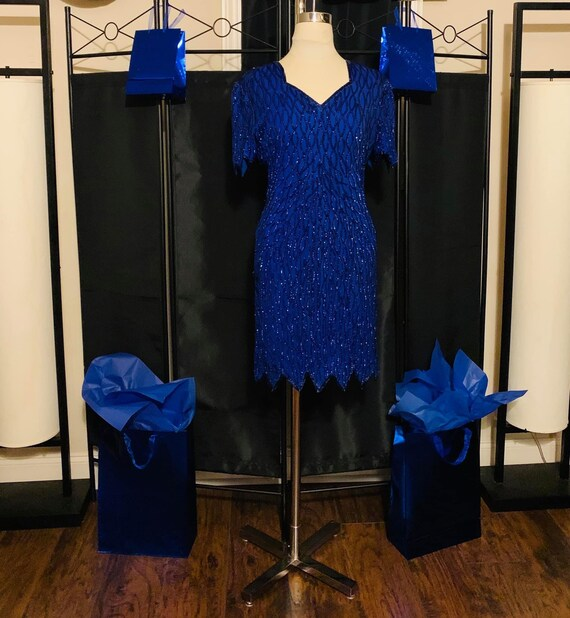 Royal Blue Formal Dress or Costume