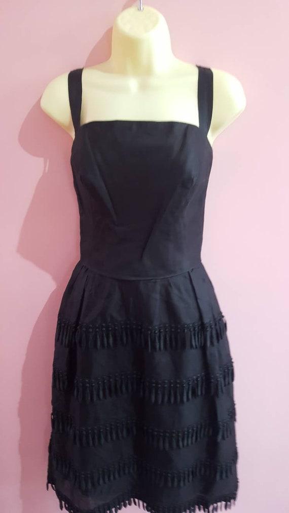 Rare Vintage 1950s Bellville et Cie Couture Silk O